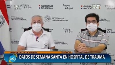 Datos de Semana Santa en el Hospital de Trauma