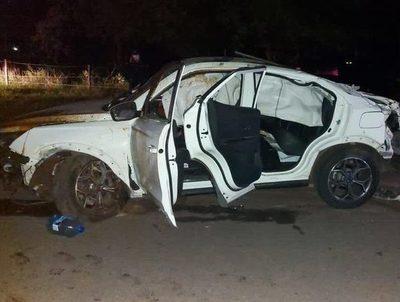 Menores protagonizan accidente en San Bernardino · Radio Monumental 1080 AM