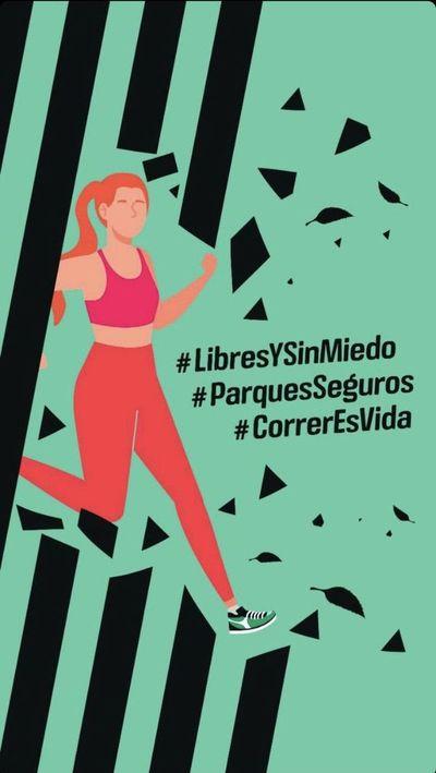 #LibresYSinMiedo: repudio masivo a violación en el Botánico también defiende derecho a hacer deporte