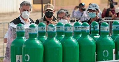La Nación / Limitarán exportación de oxígeno tras decreto de licencia previa