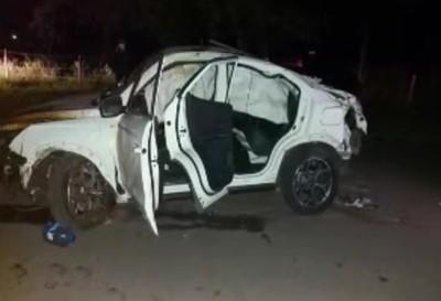 Adolescentes al volante protagonizaron vuelvo de vehículo en San Bernardino