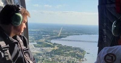 La Nación / Estanque de aguas residuales amenaza colapsar en Florida