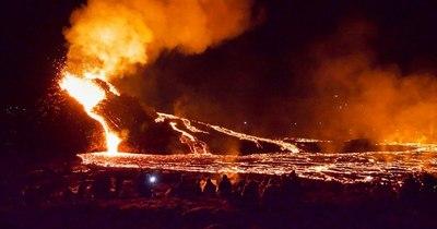 La Nación / Islandia contempla una nueva fisura volcánica