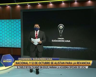 12 de Octubre, ante la misión de avanzar en Copa Sudamericana