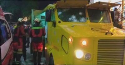 Violento asalto a transportador de caudales deja tres heridos