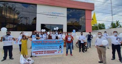 Piden suspender clases presenciales hasta que docentes sean inmunizados