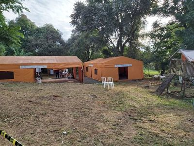 Habilitan refugio para familiares de internados por covid en CDE