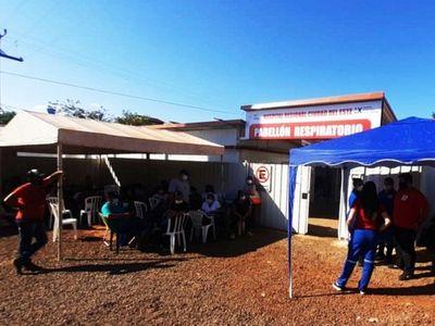Hospital Regional de CDE recibe   60 a 70 pacientes  respiratorios por día