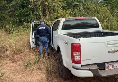 Recuperan camioneta robada de una Prefeitura en Bella Vista tras persecución