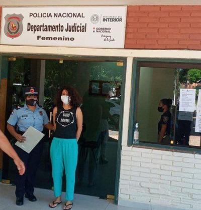 Joven detenida por la quema de la ANR amenazó con iniciar una huelga de hambre – Prensa 5