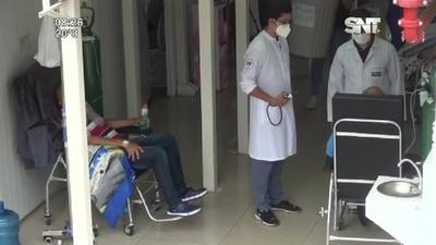 CDE: Sistema de Salud al tope debido a la gran cantidad de internados