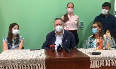Alejo entrega donación de G. 50 millones al Hospital de Coronel Oviedo y Caaguazú – Prensa 5