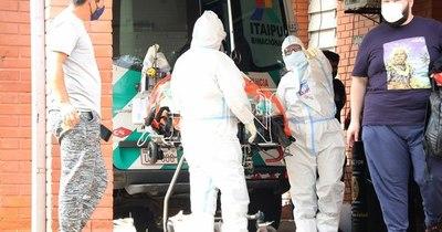 La Nación / Exigen más personal de blanco por colapso del Hospital Distrital de Lambaré