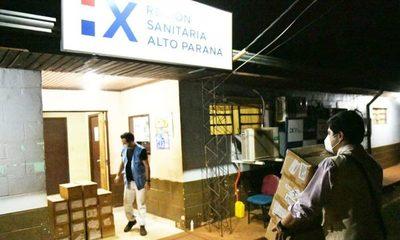 Itaipú entrega 28.500 hisopos para pruebas Covid en Alto Paraná