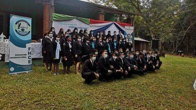 Miembros de comunidad Pai Tavyterã concluyeron carrera universitaria en Concepción