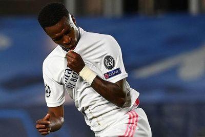 Vinicius brilla ante el Liverpool