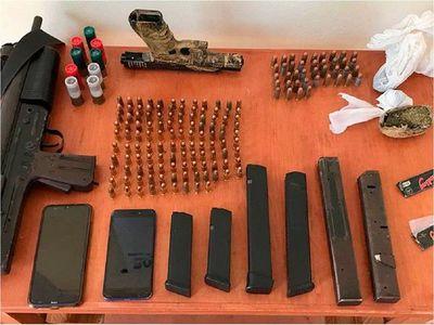 Importante golpe al tráfico de armas en Paraguay y otros países