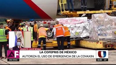 Covid-19: México autoriza uso de emergencia de vacuna Covaxin