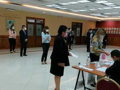 Inició la votación para elegir nuevas autoridades de la AMJP