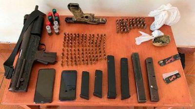 Importante golpe de Interpol al tráfico de armas en Paraguay y otros países