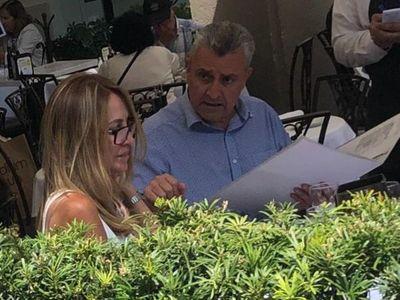 Villamayor apareció en Miami y es viral