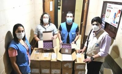 Itaipu entregó 28.500 hisopos para pruebas covid-19 en el Alto Paraná