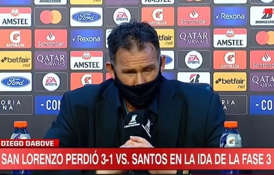 Dabove destaca a Oscar Romero tras derrota de San Lorenzo