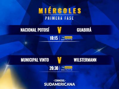 Atractivos partidos para definir el acceso a los grupos en la Sudamericana
