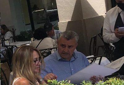 Villamayor disfruta en Miami, lejos de los escraches y la crisis sanitaria
