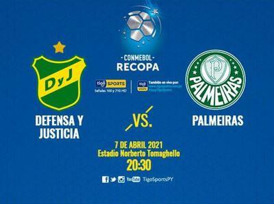 Palmeiras y Defensa y Justicia quieren recoparse