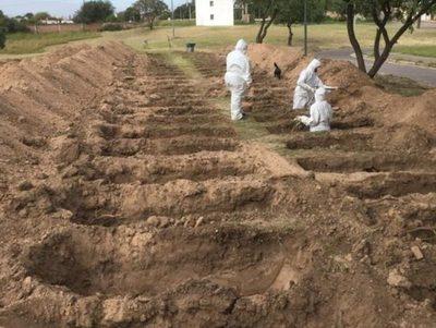 Establecerían fosas comunitarias en los Cementerios del Sur y del Este · Radio Monumental 1080 AM