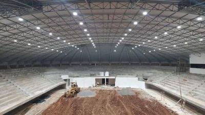 Estadio municipal Robert Acevedo: con nuevo sistema de iluminación en Pedro Juan Caballero