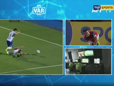 Análisis del VAR en el juego entre Cerro y Sol