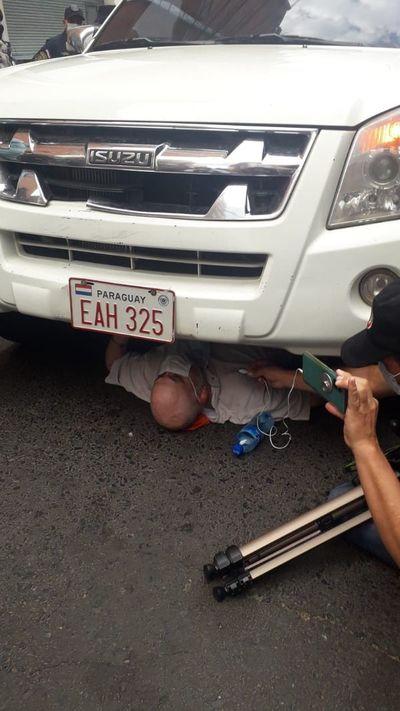 Incidentes entre Payo y policías por supuesto uso indebido de móvil policial