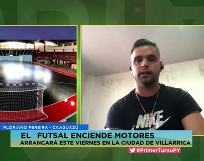 Caaguazú busca el título en el Nacional de Futsal
