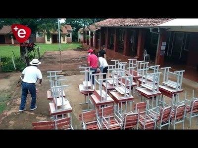 GOBERNACIÓN ENTREGÓ MOBILIARIOS A 60 INSTITUCIONES EDUCATIVAS DE ITAPÚA