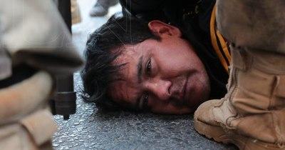 La Nación / Por agredir a un policía, detienen a Marcos Cecilio Báez, activista liberal con varios antecedentes
