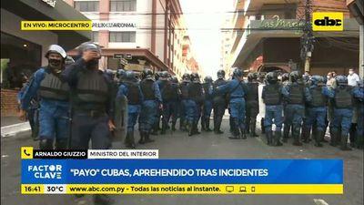 """""""Payo"""" Cubas, aprehendido tras incidentes"""