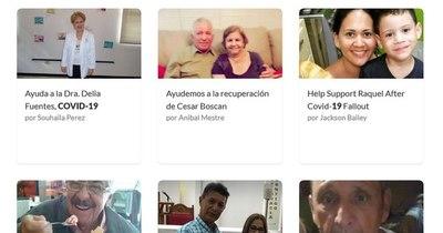 """La Nación / """"GoFundMe o morirse"""": venezolanos buscan apoyo en redes para costear el COVID"""