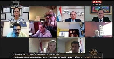 La Nación / Director interino de Itaipú se presentó ante comisión del Senado