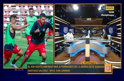 Santiago Salcedo, ansioso con el arranque de la Intermedia