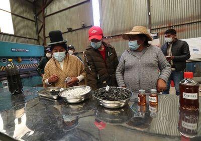 Bolivia ve con interés la producción de biodiésel a partir de la basura