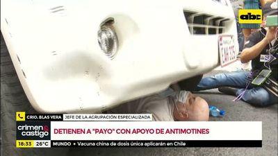"""""""Payo"""" Cubas sería remitido a la Agrupación Especializada"""