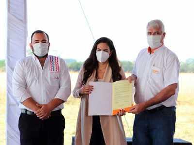 Firma ligada a exministro inicia las obras de un megahospital