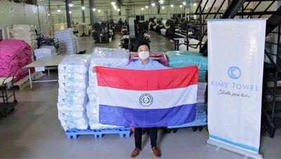 Hecho en Py: Kim's Towel proyecta operar al 100% de su capacidad y conquistar nuevos mercados internacionales en 2021