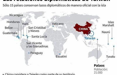 """Taiwán acusa a China de """"cortejar"""" a Paraguay a cambio de vacunas"""