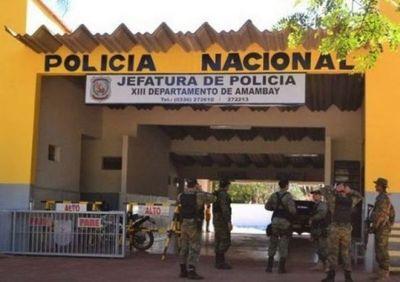 Informe policial de Amambay, jueves 8 de abril