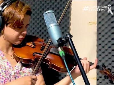 Músicos piden con una canción la liberación de secuestrados