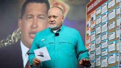 """Diosdado Cabello amenazó a los periodistas que cubren el conflicto con Colombia y aseveró que serán considerados """"enemi"""
