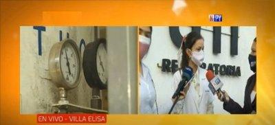 Situación crítica por falta de oxígeno en Villa Elisa